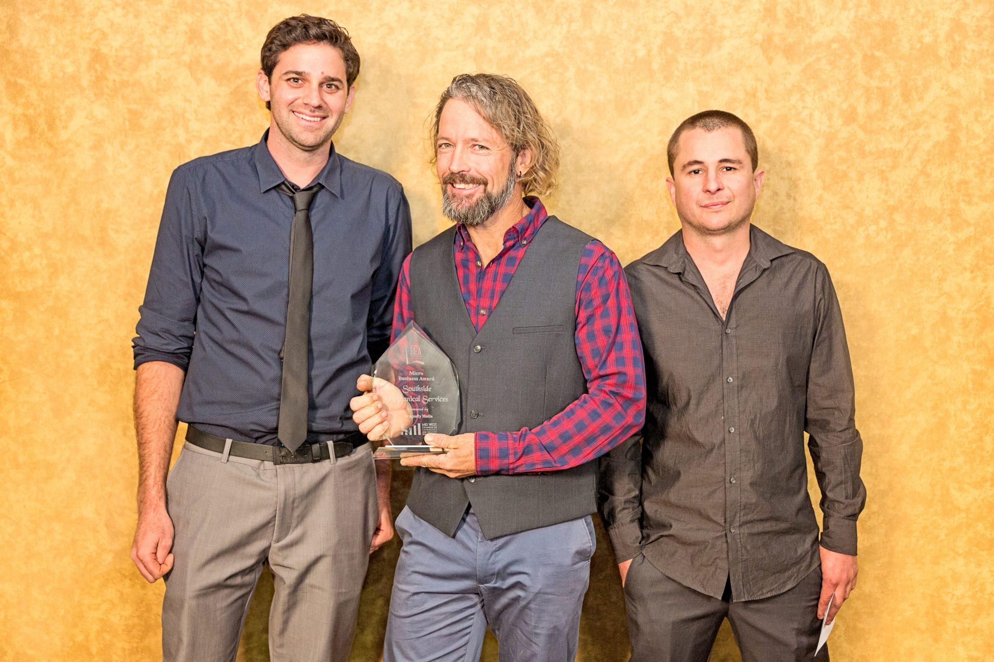 Geoff Watters, Luke Rogers, Jeremy D'Mello